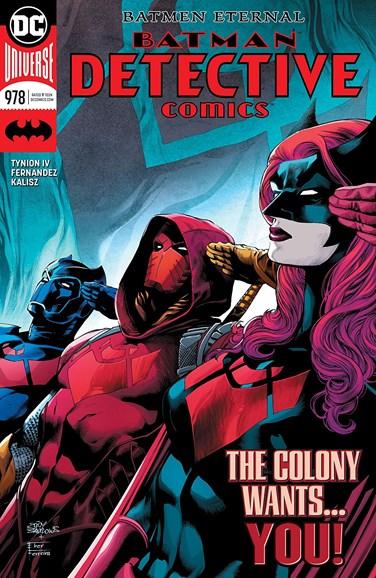 Detective Comics Cover - 6/1/2018