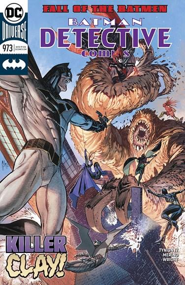 Detective Comics Cover - 3/15/2018