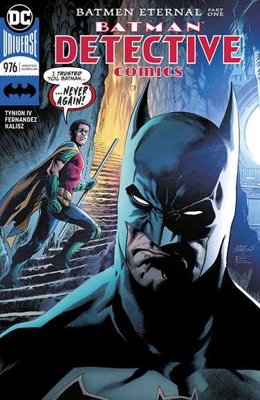 Detective Comics Cover - 5/1/2018