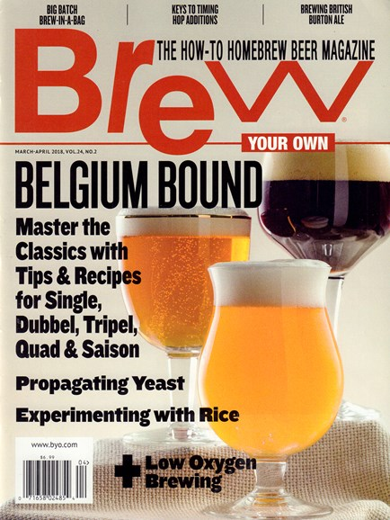 Brew Your Own Cover - 3/1/2018