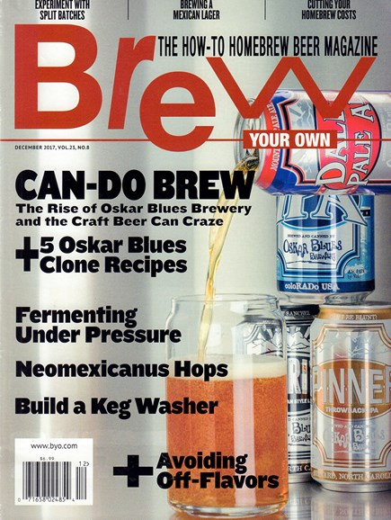 Brew Your Own Cover - 12/1/2017
