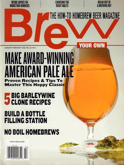 Brew Your Own Cover - 1/1/2018