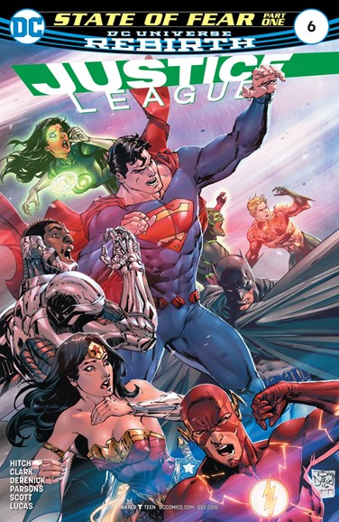 Justice League Cover - 12/1/2016