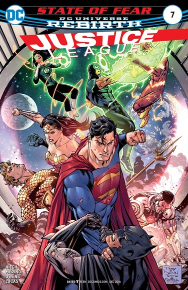 Justice League Cover - 12/15/2016