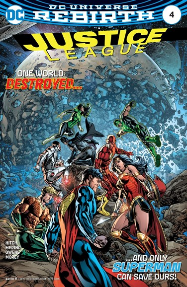 Justice League Cover - 11/1/2016