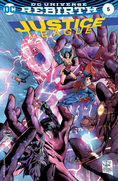 Justice League Cover - 11/15/2016