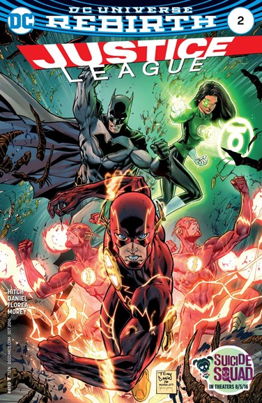 Justice League Cover - 10/1/2016