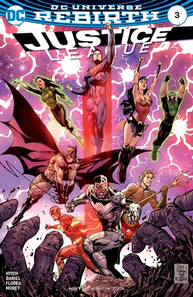 Justice League Cover - 10/15/2016