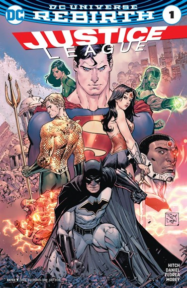 Justice League Cover - 9/1/2016