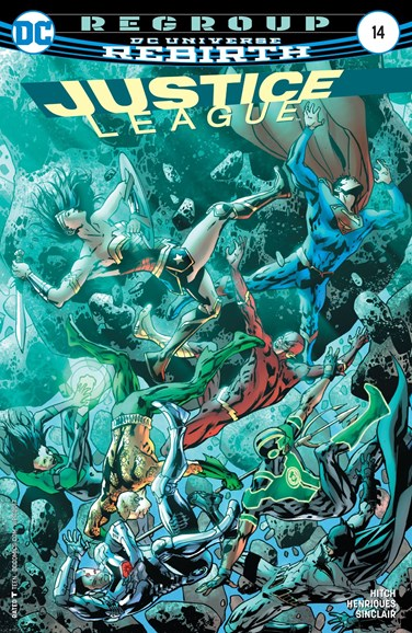 Justice League Cover - 4/1/2017