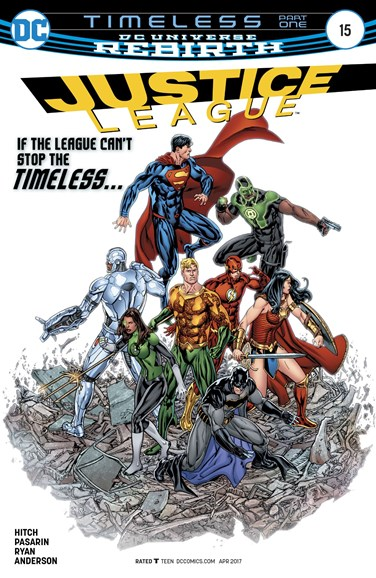Justice League Cover - 4/15/2017