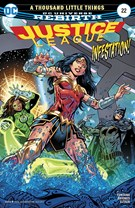 Justice League Comic 8/1/2017