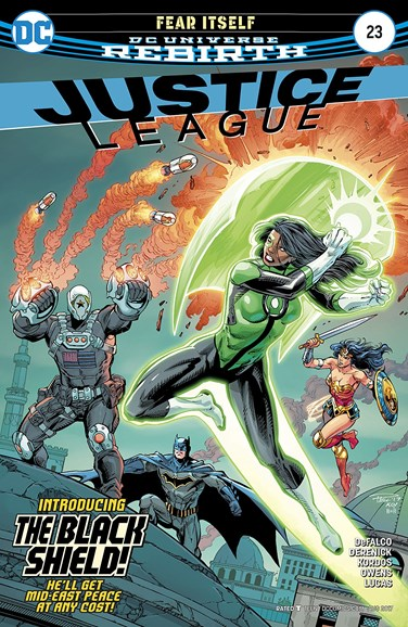 Justice League Cover - 8/15/2017