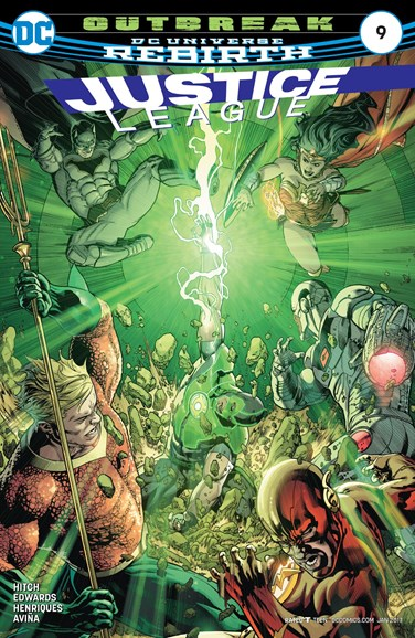 Justice League Cover - 1/15/2017