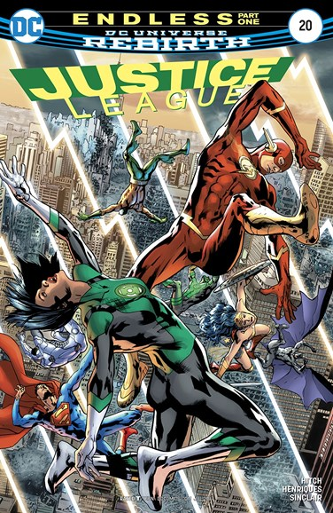 Justice League Cover - 7/1/2017