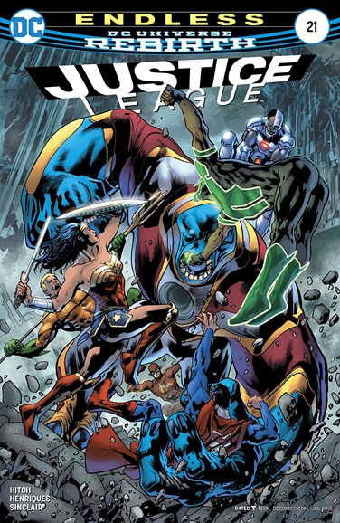 Justice League Cover - 7/15/2017