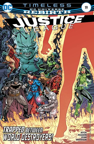 Justice League Cover - 6/15/2017