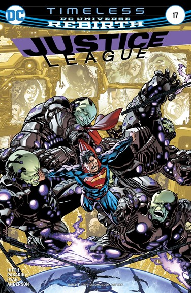 Justice League Cover - 5/15/2017