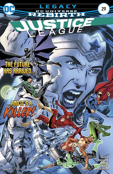 Justice League Cover - 11/15/2017