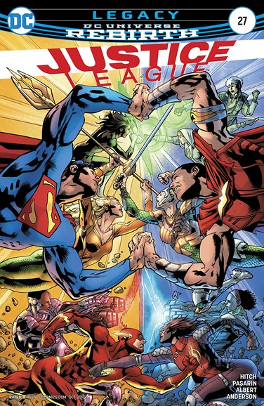 Justice League Cover - 10/15/2017