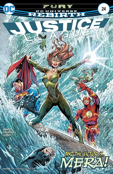 Justice League Cover - 9/1/2017
