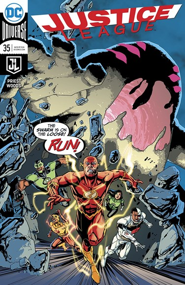 Justice League Cover - 2/1/2018