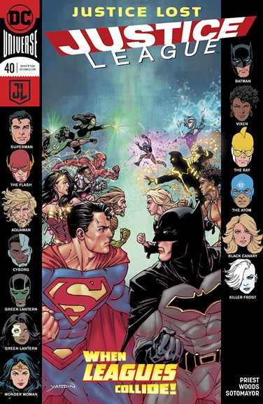 Justice League Cover - 5/1/2018