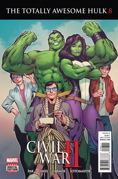Immortal Hulk Cover - 9/1/2016