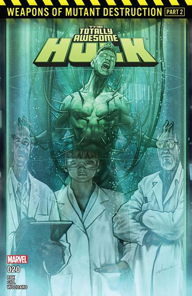 Immortal Hulk Cover - 8/1/2017