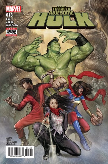 Immortal Hulk Cover - 3/15/2017