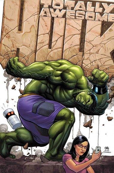 Immortal Hulk Cover - 11/1/2017