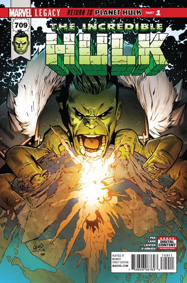 Immortal Hulk Cover - 12/1/2017