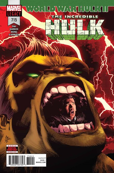 Immortal Hulk Cover - 6/1/2018