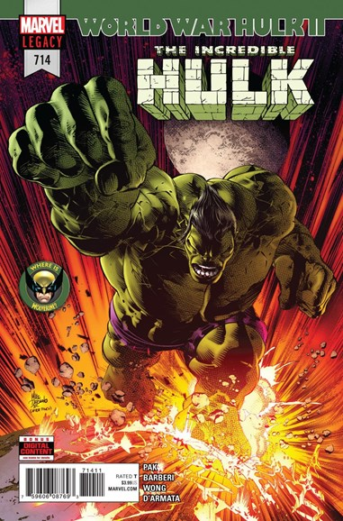 Immortal Hulk Cover - 5/1/2018