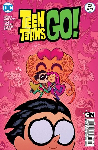 Teen Titans Go! Cover - 4/1/2017