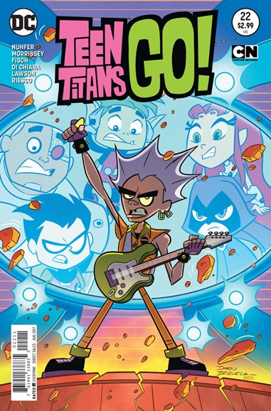 Teen Titans Go! Cover - 8/1/2017