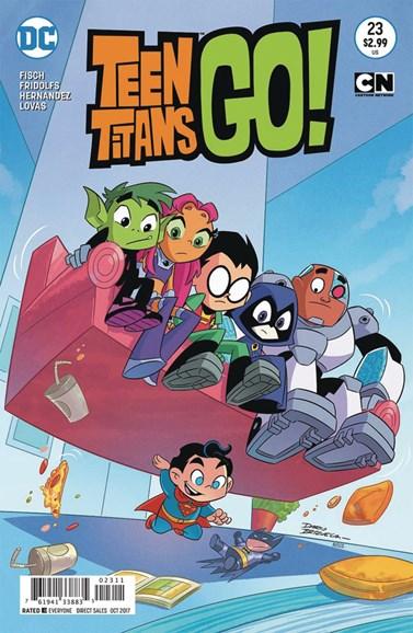 Teen Titans Go! Cover - 10/1/2017