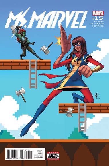 Magnificent Ms. Marvel Cover - 4/1/2017