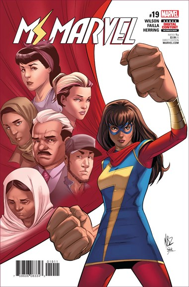 Magnificent Ms. Marvel Cover - 8/1/2017