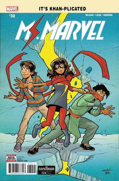 Magnificent Ms. Marvel Cover - 7/1/2018