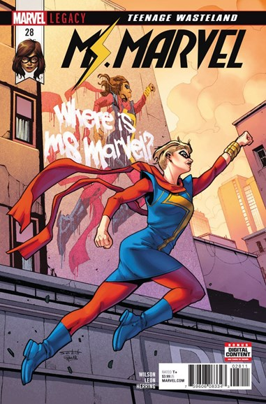 Magnificent Ms. Marvel Cover - 5/1/2018