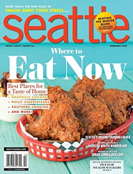 Seattle Magazine Cover - 2/1/2018