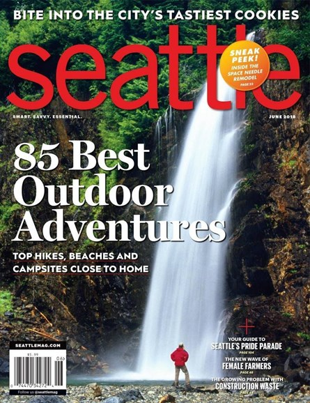 Seattle Magazine Cover - 6/1/2018