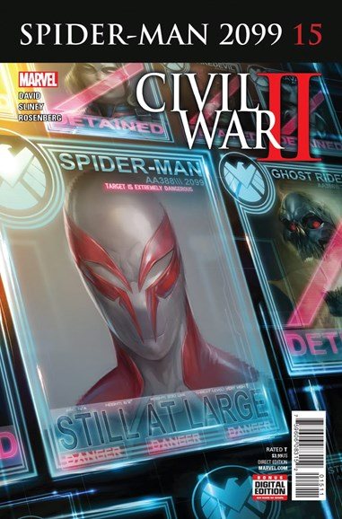 Spider-Man 2099 Cover - 11/1/2016