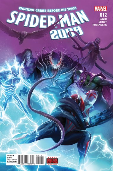 Spider-Man 2099 Cover - 9/1/2016