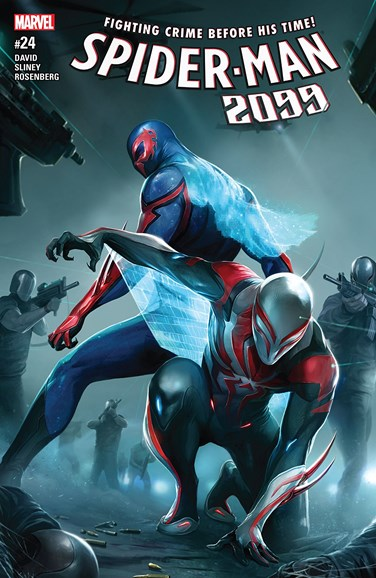 Spider-Man 2099 Cover - 8/1/2017