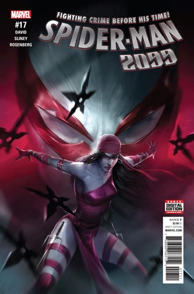 Spider-Man 2099 Cover - 1/1/2017