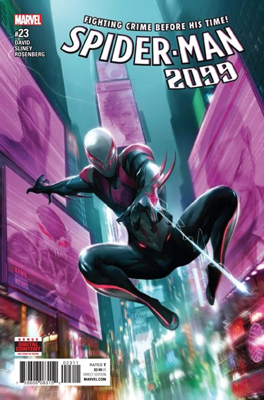 Spider-Man 2099 Cover - 7/1/2017