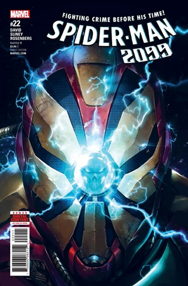 Spider-Man 2099 Cover - 6/1/2017