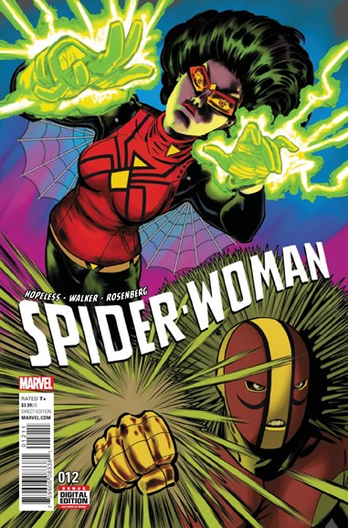 Spider-Woman Cover - 12/1/2016